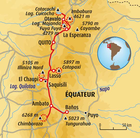Chimborazo Map